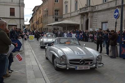 Auto: 1000 Miglia a Rieti