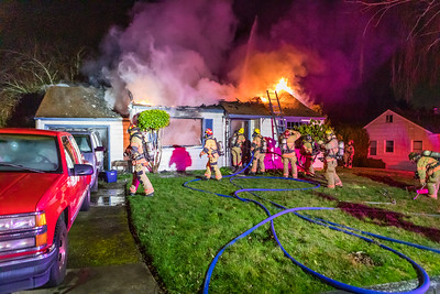Structure Fire - Maple Blvd, Fairview, OR - 2/6/21