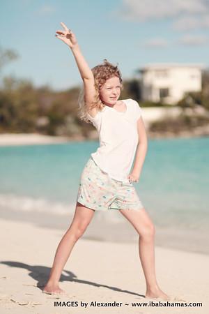 Meredith's Family Photo Shoot. Exuma Bahamas