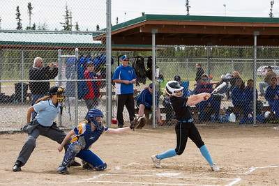 Hutchison Softball vs Kodiak, 2015 State Playoffs
