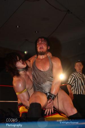 DGUSA 3/30/12 - Sami Callihan vs BxB Hulk