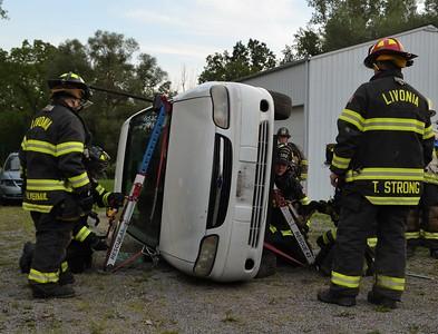 Auto Extrication Drill - Livonia, NY - 8/30/21