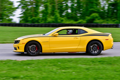2019 SCCA May TNiA Pitt Race Yellow Camaro