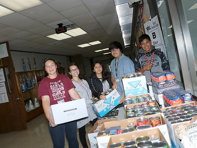 REL Food Drive sponsored  by Interact