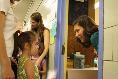 Alina's First Day of Kindergarten
