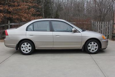 2001 Honda Civic EX Sedan Front Door Speaker Installation