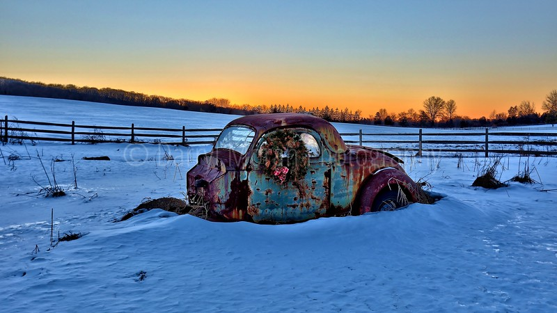 Rusty 32 Ford Coup
