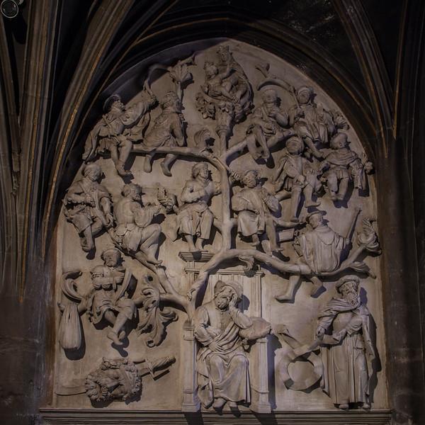 St. John the Baptist Basilica, Chaumont, Tree of Jesse