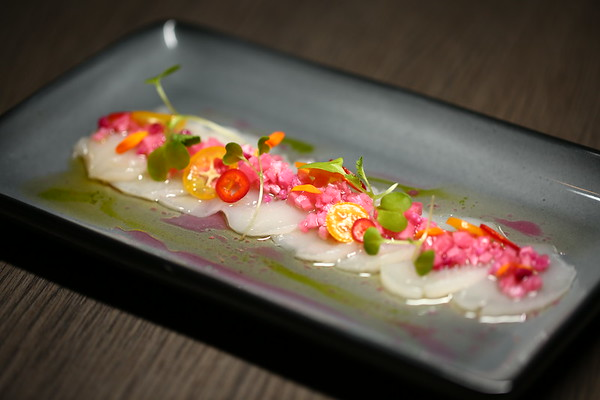 Bistro 82 - Scallop Carpaccio (RAW)