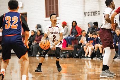 Middle School Boys Basketball 2019-2020