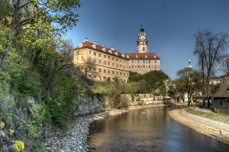 Český Krumlov Castle and the Vltava River - Český Krumlov, Czech Republic