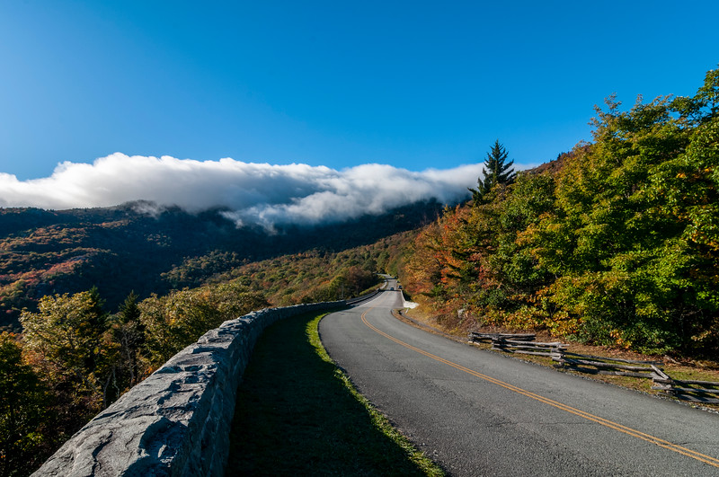 on the Blue Ridge Parkway