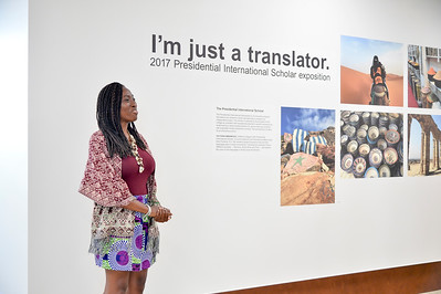 Art Gallery Talk Victoria Presidential Scholar