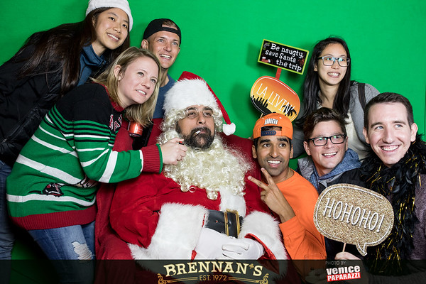 12.22.18 Brennan's Holiday Party with Bad Santa