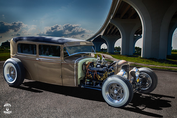 1930 Ford Sedan Tan Greg Solowsky