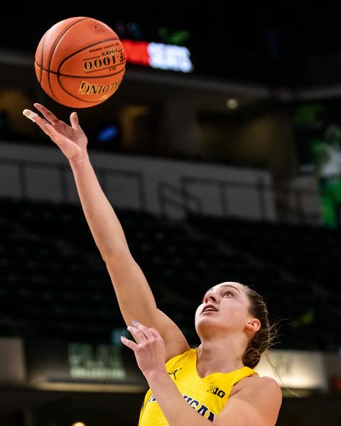 Big Ten Women's Tourney Nebraska vs. Michigan