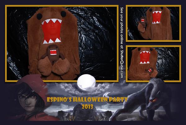 Espino's Halloween Party 10-26-13