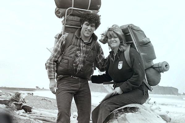 La Push Backpacking 1979