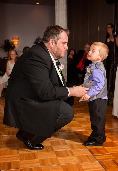 Groom and little groomsmen at reception.jpg