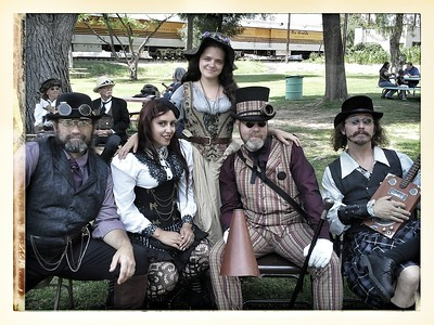 Steampunk at Orange Empire Railway Museum