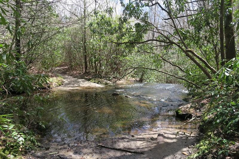 Deep Gap Trail - Panthertown Creek - 3,660'