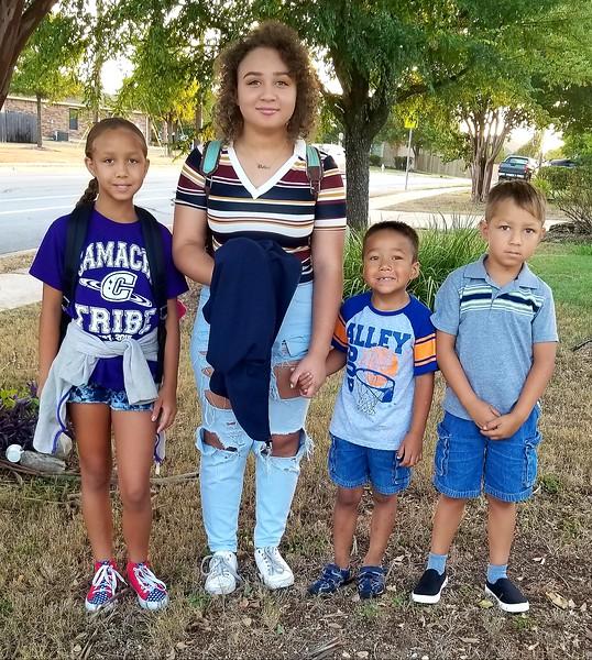 Evanlinna, Solomon and Issabella | 3rd grade, Kindergarten, 10th grade | Camacho Elementary & Glenn High School