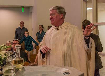Hazel's Baptism 2017