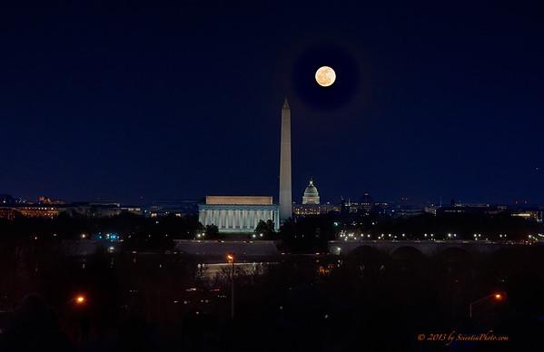 Monumental Moon (February 25, 2013)