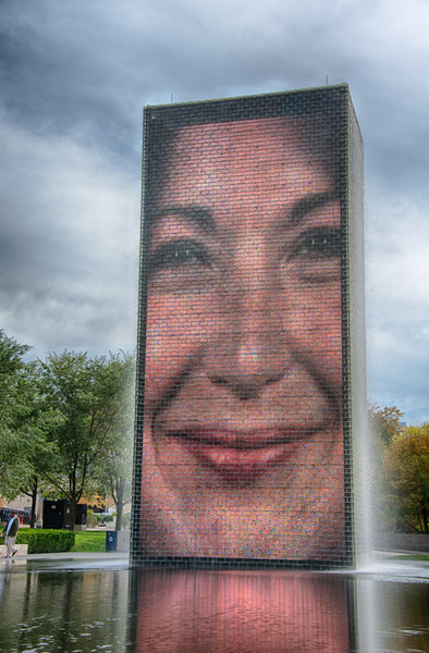 Crown Fountain, Millennium Park, Chicago