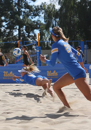UCLA vs Az State Womans Beach VB Game Mar. 7, 2020 (Album 1)