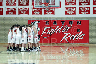 12/19/2014 Eaton Varsity Girls Basketball vs Frontier Academy