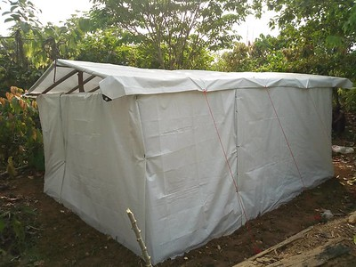 Shelter in North-West Cameroon