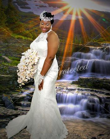 Porsha Bridal Portrait