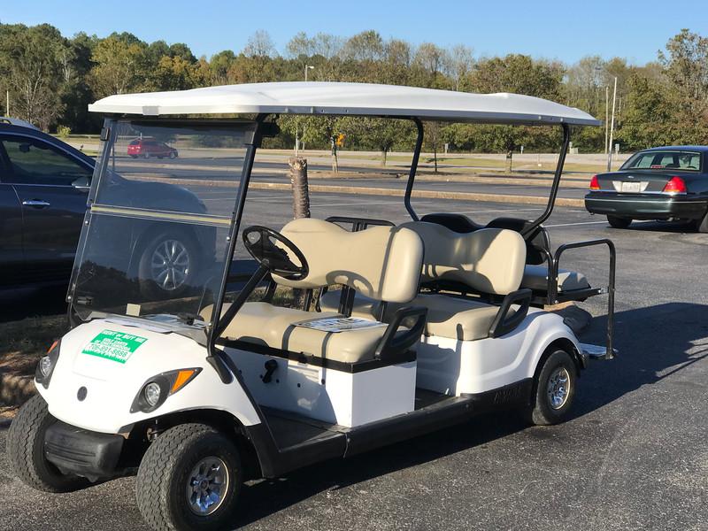 Golf Cart for Hamfest