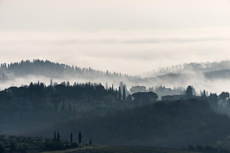 Morning - San Gimignano, Siena, Italy - March 27, 2016