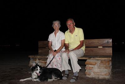 Mum & Pete in Spain 2013