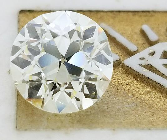 2.42ct Old European Cut Diamond - Est N/O, VS, AGS Pending