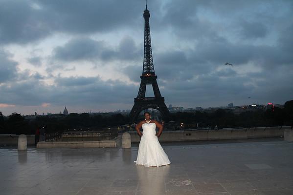 Paris Wedding Pic