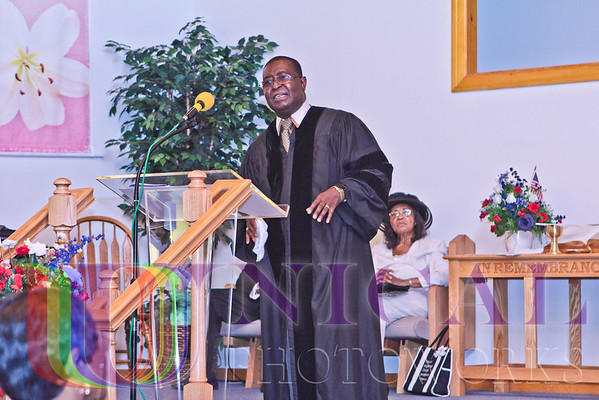 First Anniversary Celebration Worship Service of Christ International Community Church, (Rev. Dr. S. Alexander Minor, I - Founder/Pastor) July 15, 2012, at the Dover First Seventh-day Adventist Church, Dover, DE
