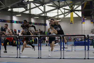 Boys 55m Hurdles Final