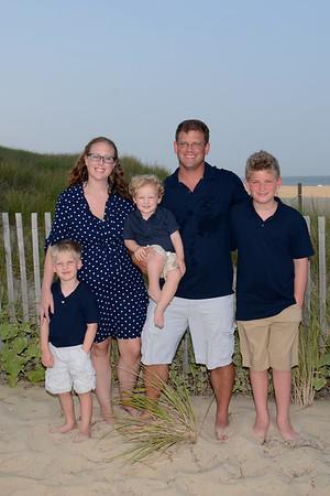 Andrews Family Beach Portraits Aug. 27, 2018