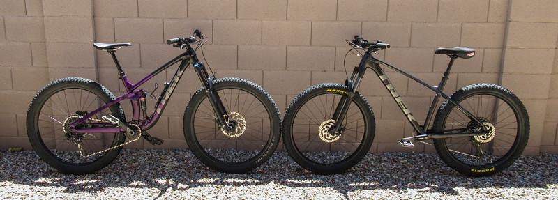 2020-06-07 Trek Fuel EX 8 vs Roscoe 7