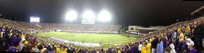 9/29 UTEP Stadium Panorama in the 1st quarter
