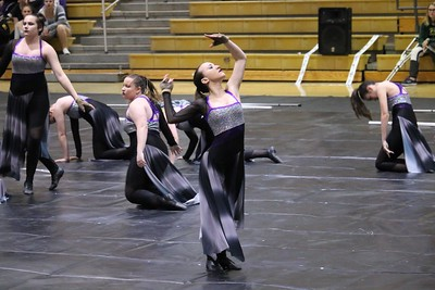 2018-3-3 Winter Guard Competition-Valencia High School