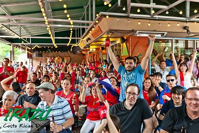 Costa Rica vs Netherlands World Cup @ Irazu Chicago
