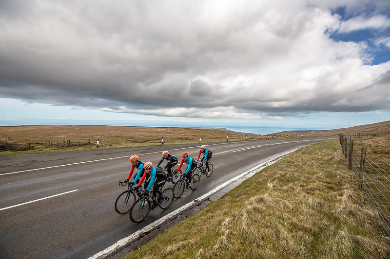 Madison Genesis team on the Isle Of Man.