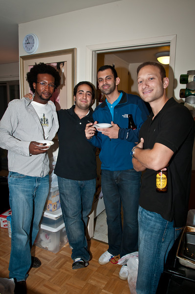 More of the dudes who invaded our apartment. Ariel invited them -- we didn't know them before!