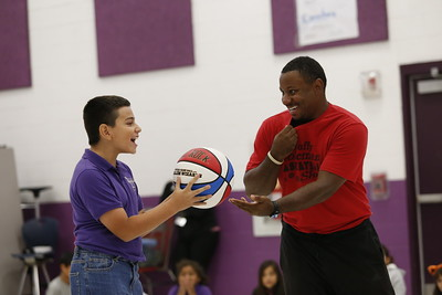 Coldwell students receive motivational & anti-bullying speech