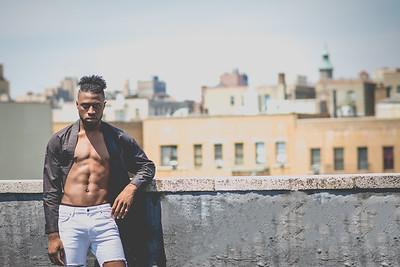 NYC Roof Top Shoot | Models Devin & Dominique