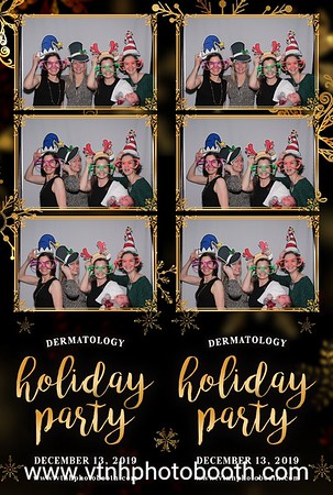 Photo Strips - 12/13/19 - DHMC Dermatology Holiday Party